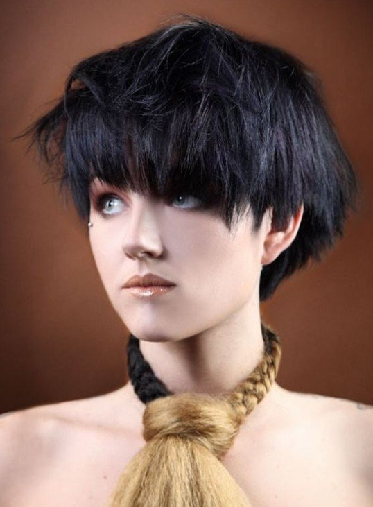 The Best 10 Best Short Haircuts With Bangs Ideas Pretty Designs Pictures