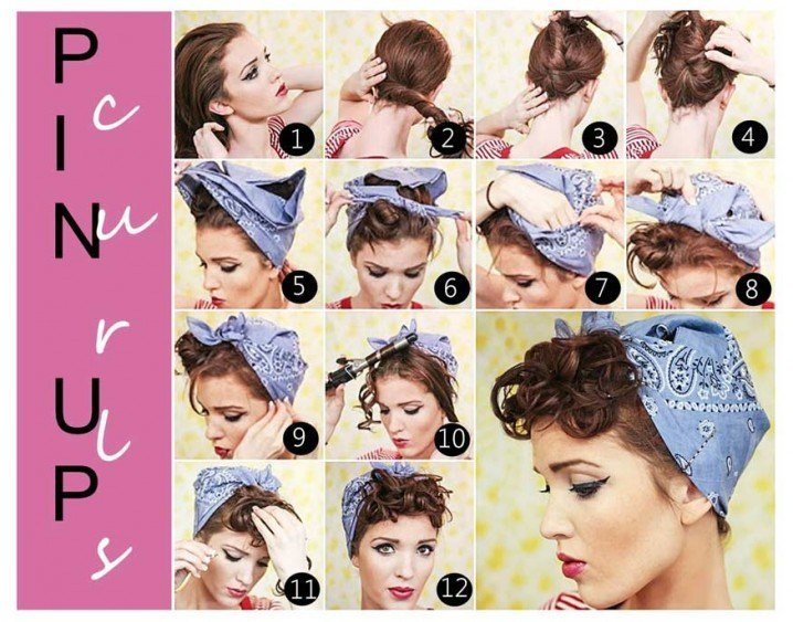 The Best 17 Vintage Hairstyles With Tutorials For You To Try Pictures