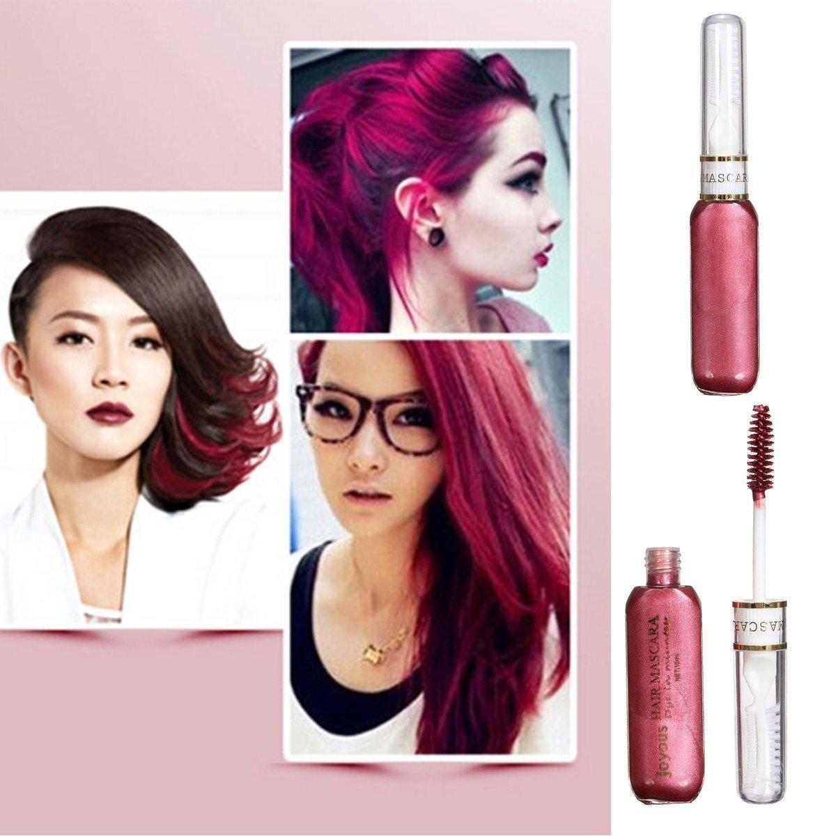 The Best Temporary Hair Colour Dye Mascara Non Toxic Purple Pictures
