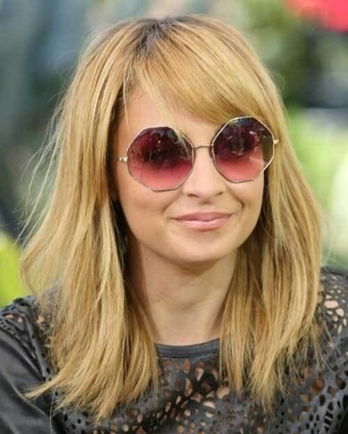 The Best 25 Long Bob With Bangs Bob Hairstyles 2018 Short Pictures