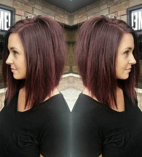 The Best Inverted Long Bob Styles Bob Hairstyles 2018 Short Pictures