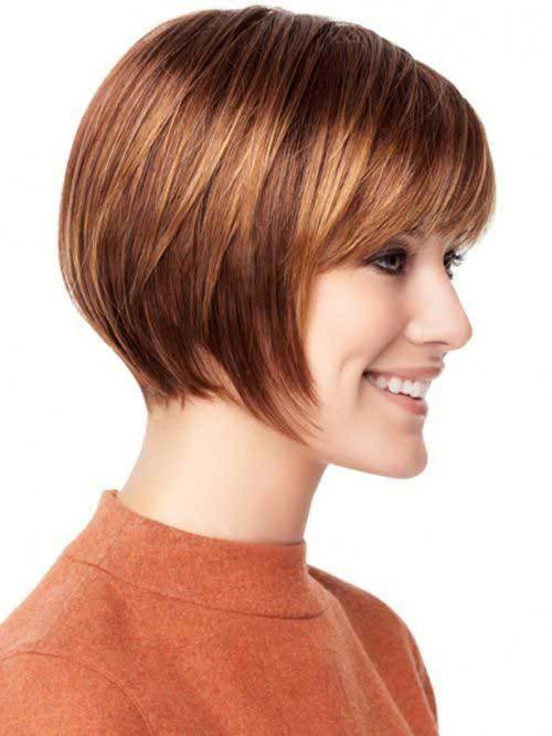 The Best 30 Best Inverted Bob With Bangs Bob Hairstyles 2018 Pictures