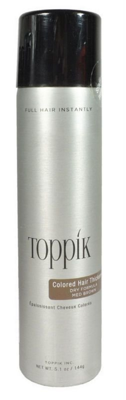 The Best Brand New Toppik Fullmore Colored Hair Thickener 5 1Oz Medium Brown Pictures