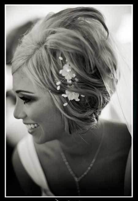 The Best 20 Short Hairstyles For Brides Short Hairstyles 2018 Pictures