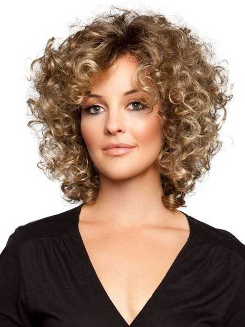 The Best 25 Short And Curly Hairstyles Short Hairstyles 2017 Pictures