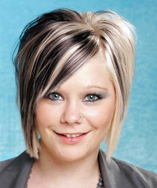The Best Two Tone Hair Color For Short Hair Short Hairstyles 2017 Pictures