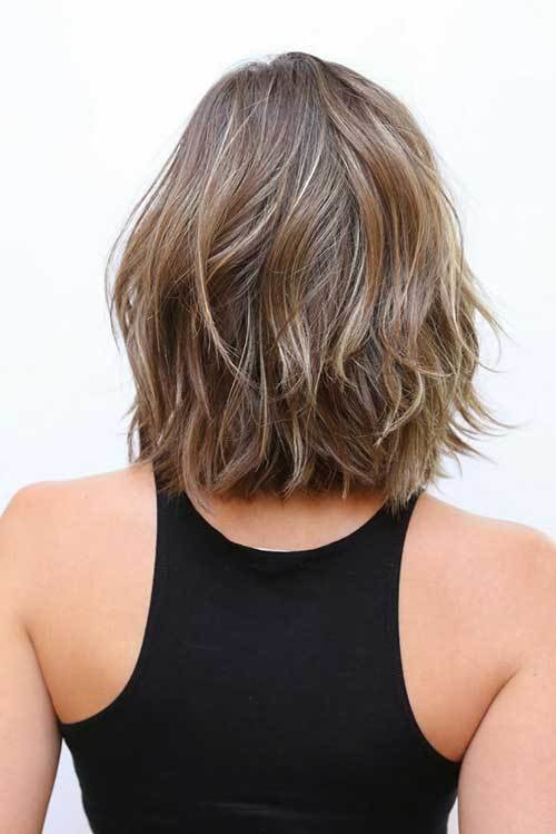 The Best 20 Fresh And Fashionable Shoulder Length Haircuts Crazyforus Pictures