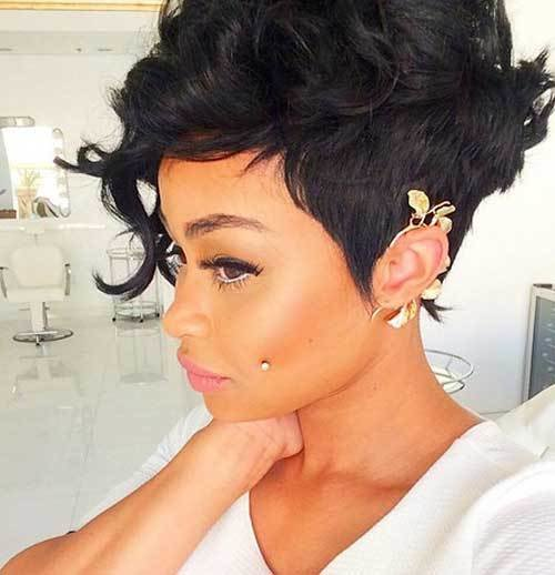 The Best 20 Pixie Cut For Black Women Short Hairstyles 2017 Pictures