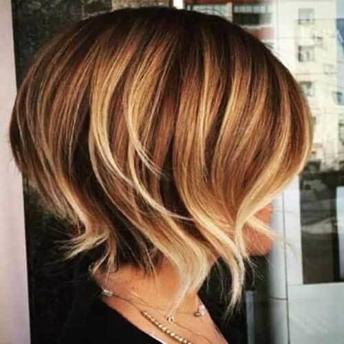 The Best Highlights For Short Hair Short Hairstyles 2018 2019 Pictures