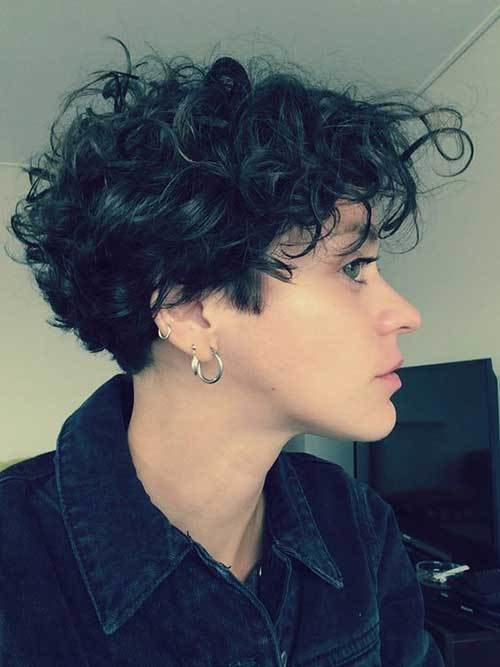The Best Gorgeous Short Curly Hair Ideas You Must See Short Hairstyles 2018 2019 Most Popular Short Pictures