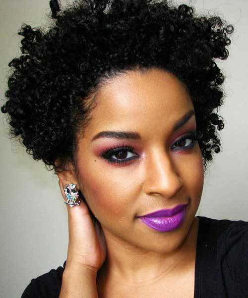 The Best 25 Short Curly Afro Hairstyles Short Hairstyles 2017 2018 Most Popular Short Hairstyles Pictures