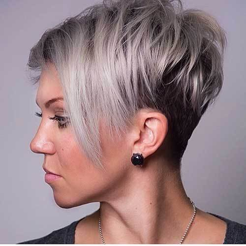 The Best 30 Super Short Layered Hairstyles Short Hairstyles 2018 Pictures