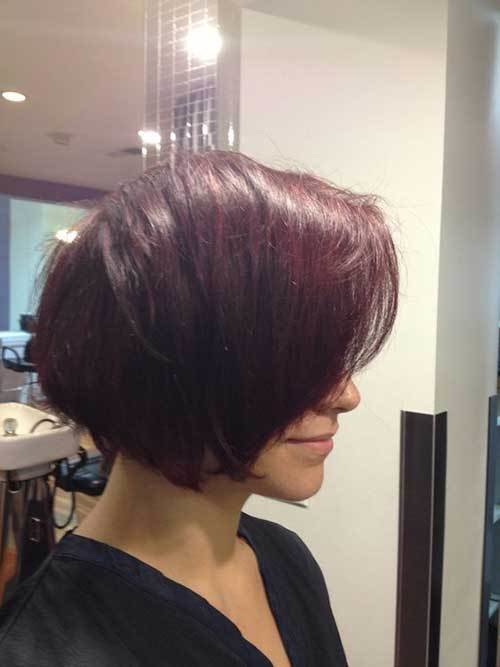 The Best Unique Hair Colors On Short Haircuts Short Hairstyles Pictures