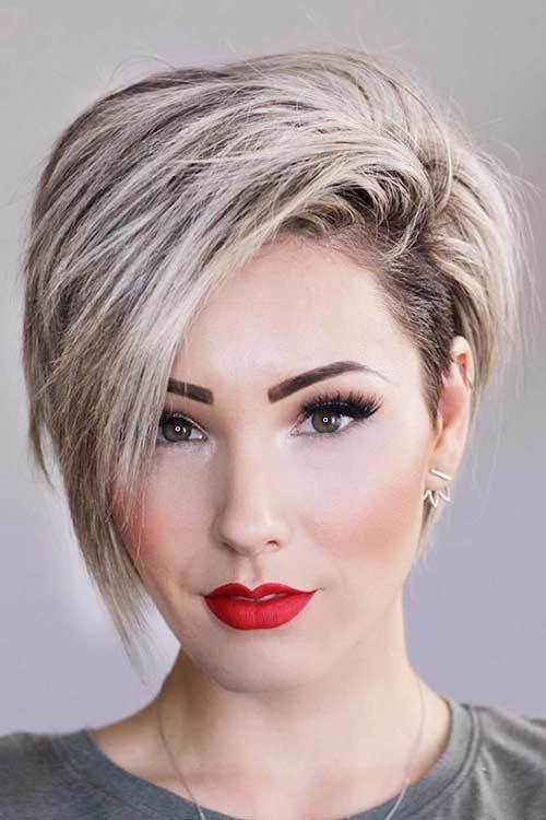 The Best 35 Best Layered Short Haircuts For Round Face 2018 Short Pictures
