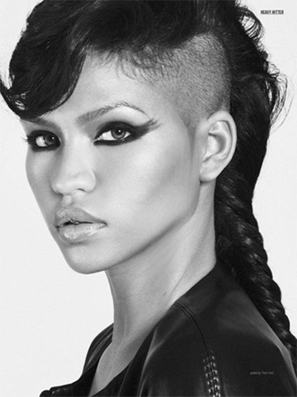 The Best 52 Of The Best Shaved Side Hairstyles Pictures