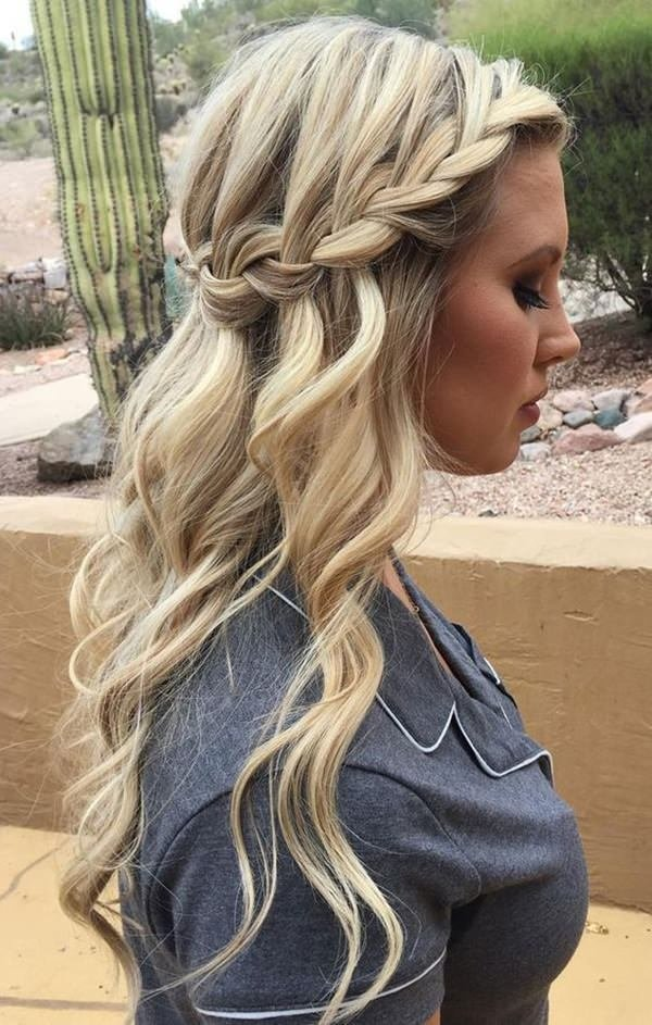 The Best 68 Elegant Half Up Half Down Hairstyles That You Will Love Pictures