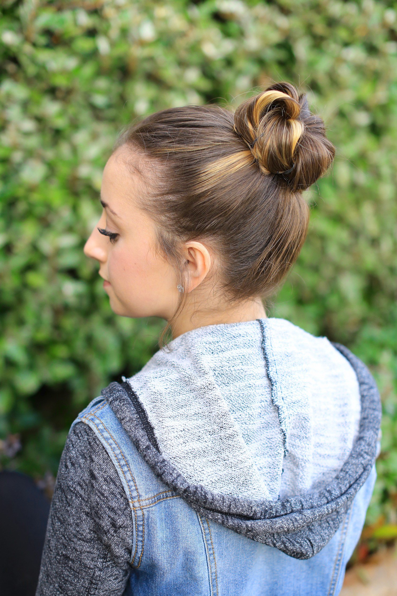 The Best How To Create A Crown Bun Cute Girls Hairstyles Pictures