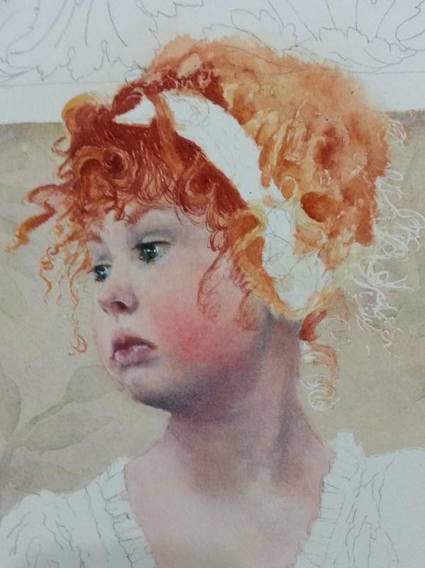 The Best How To Paint Red Hair In Watercolor The Art Of Susan Pictures