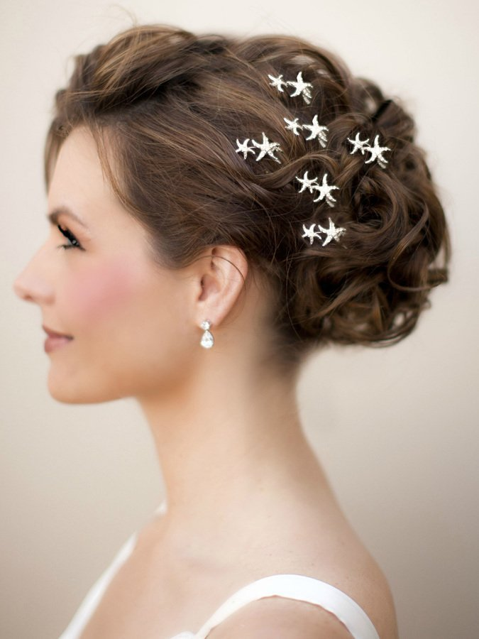 The Best Beach Wedding Hair Styles Bridal Hair Hawaiian Wedding Pictures