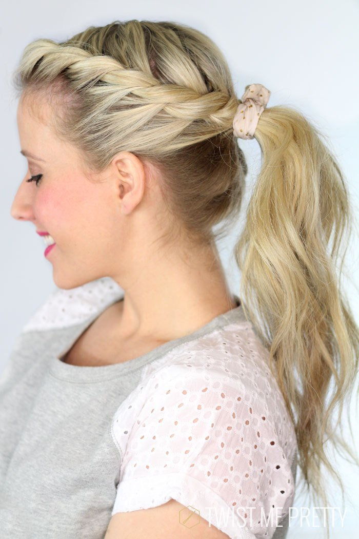 The Best Twisted Ponytail Day 28 Twist Me Pretty Pictures