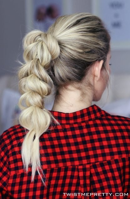The Best 4 Hairstyles For D*Rty Hair Twist Me Pretty Pictures