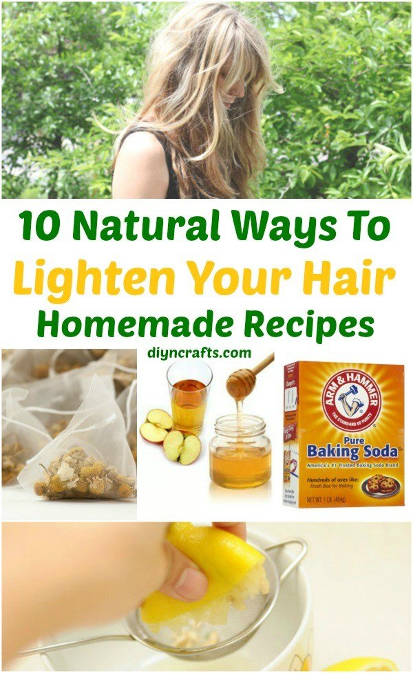 The Best 10 Ways To Lighten Your Hair Naturally Homemade Recipes Pictures