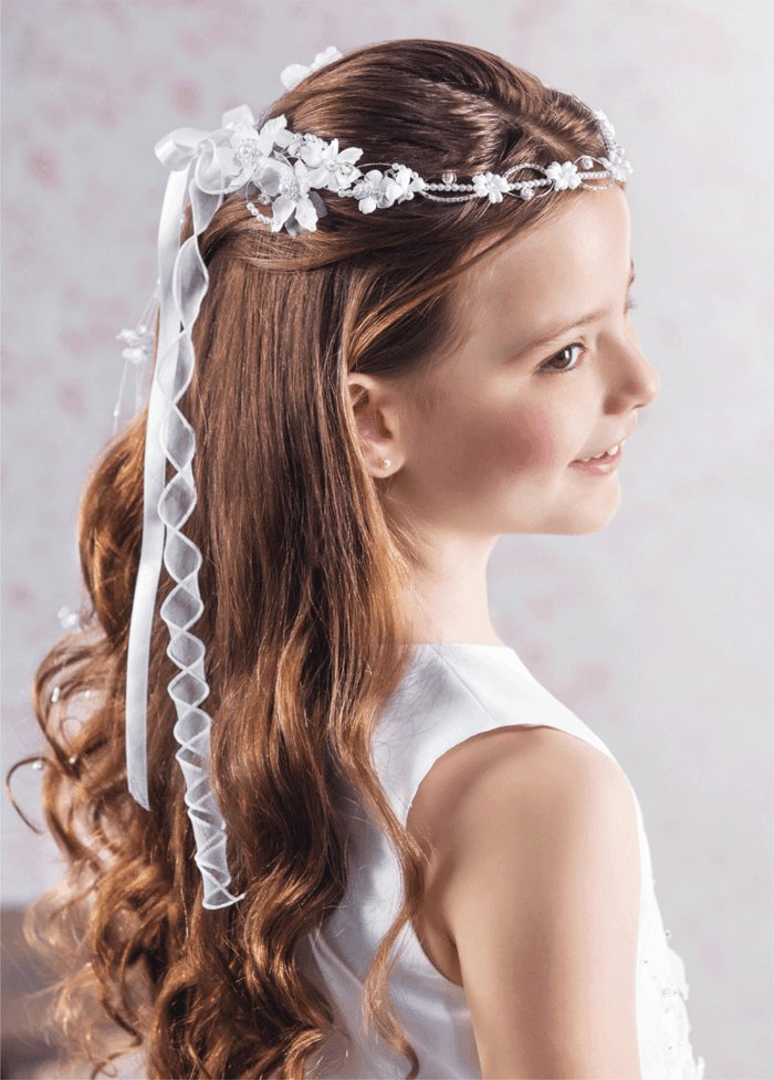 The Best First Communion Hairstyles That Make For Great Memories Pictures