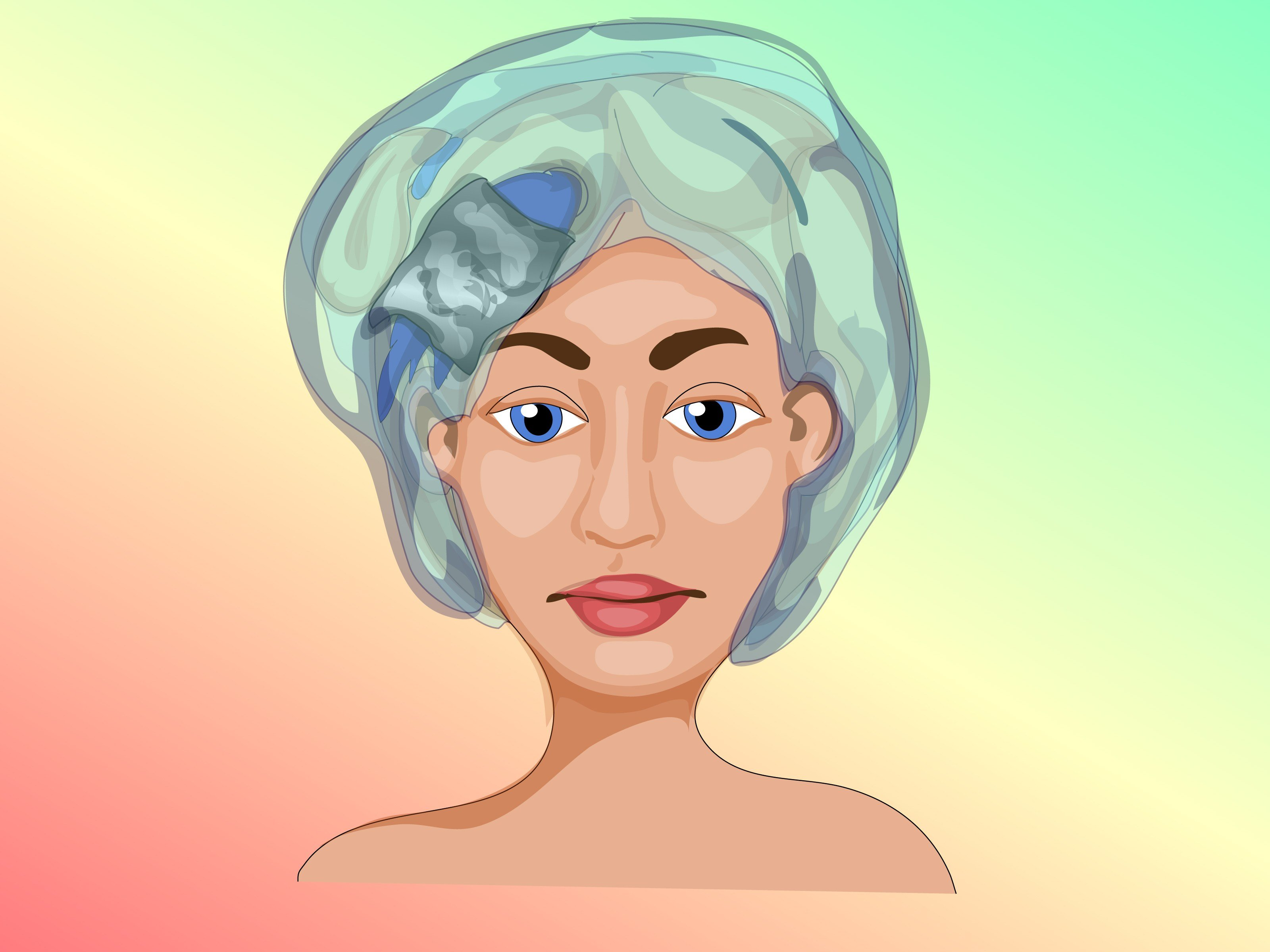 The Best How To Color Hair With Food Coloring With Pictures Wikihow Pictures