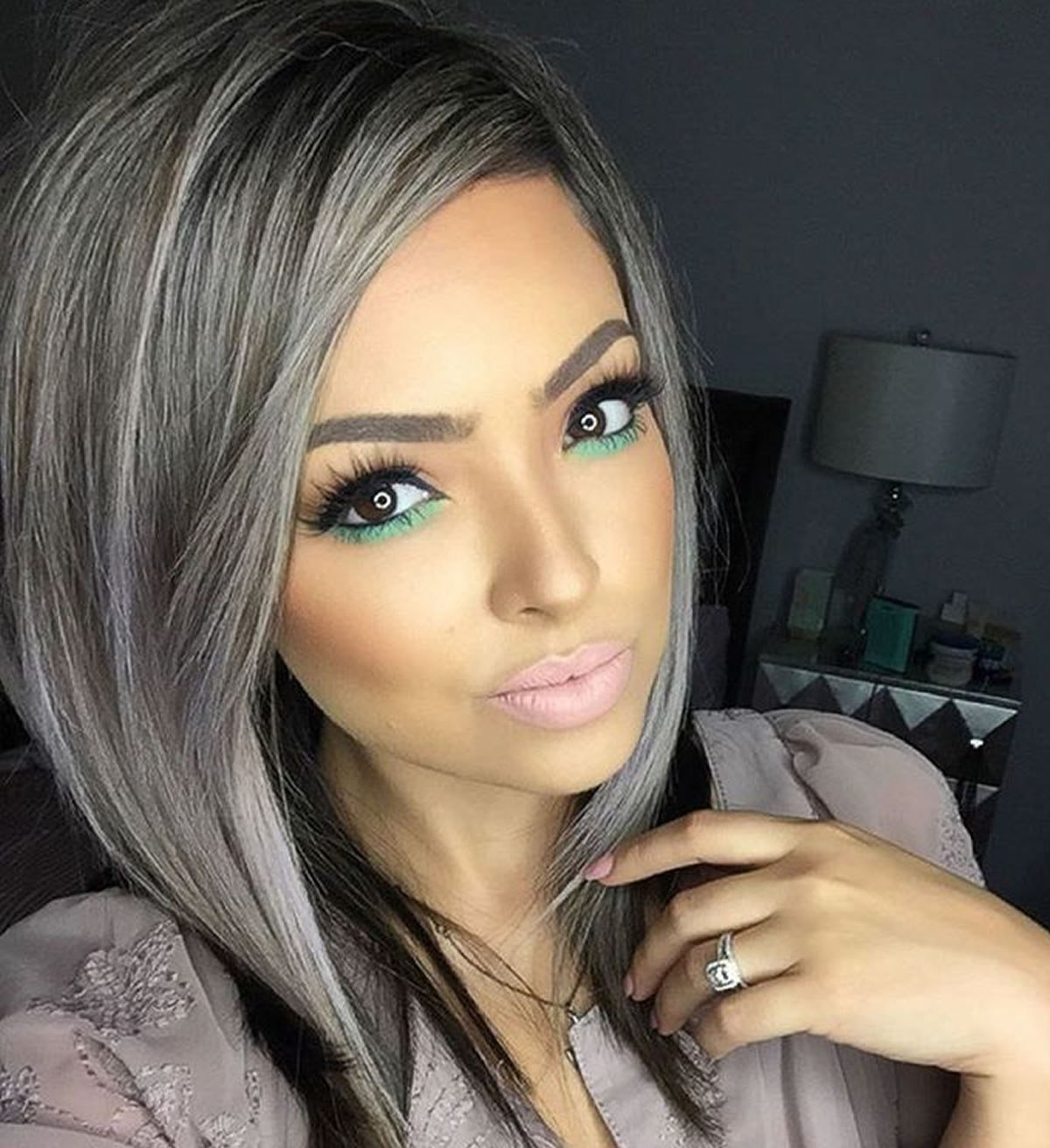 The Best Gray Hair Color Ideas 2018 2019 Long Hair Tutorial Pictures