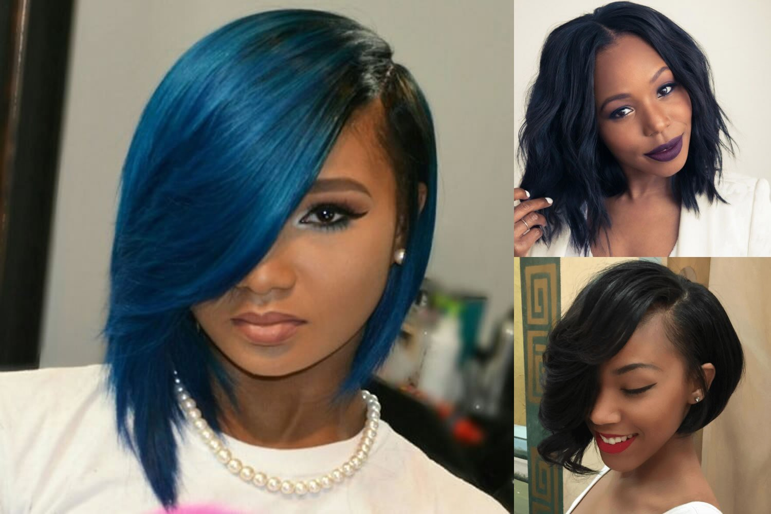 The Best Short Bob Hairstyle For Black Women Hair Color Ideas Pictures