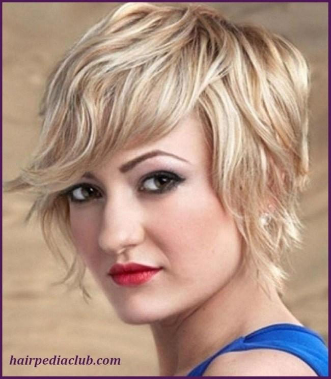 The Best 5 Short Haircuts For Thick Hair And Round Faces Pictures