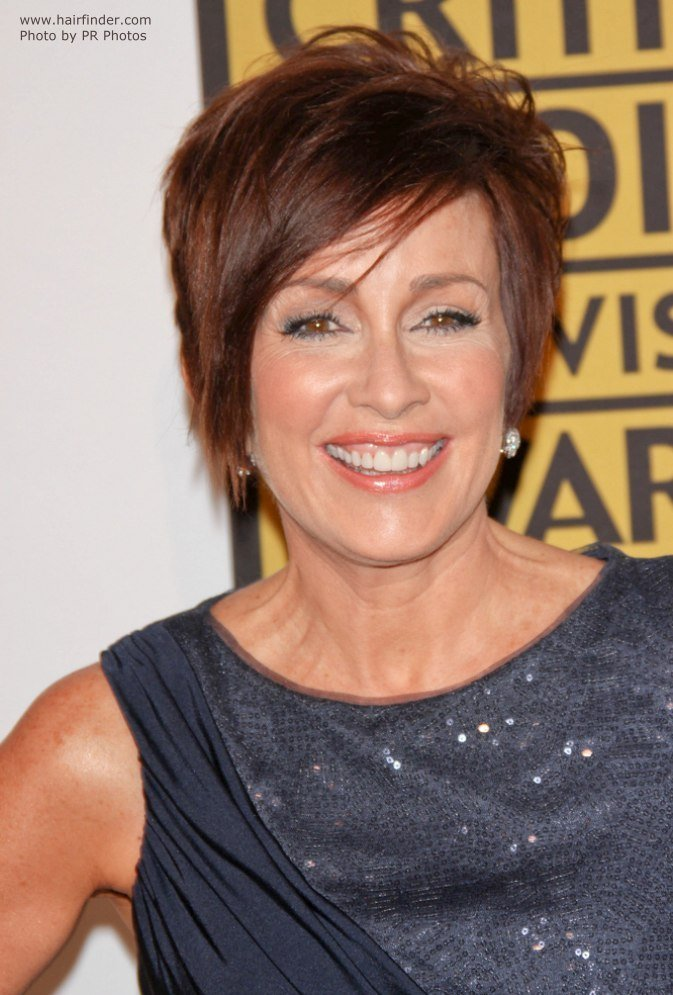 The Best Patricia Heaton Wearing Her Hair Short In A Pixie Pictures