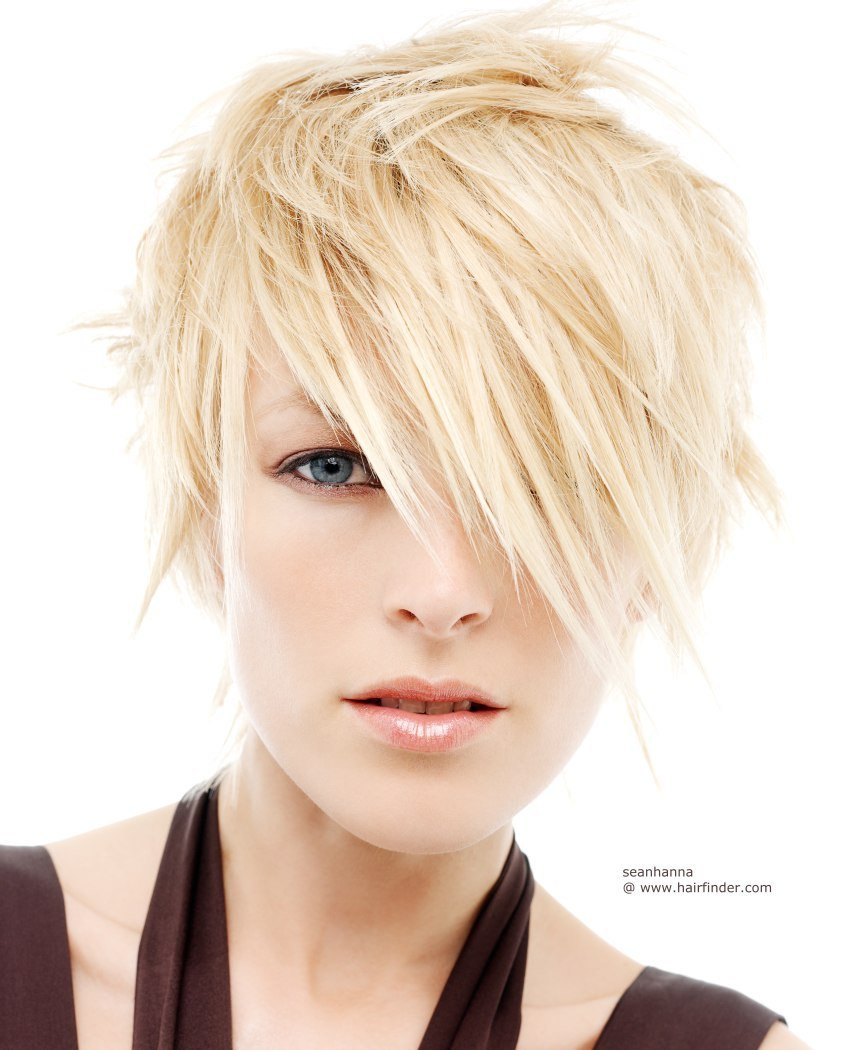 The Best Short Carefree Hairstyle For Blonde Hair Pictures