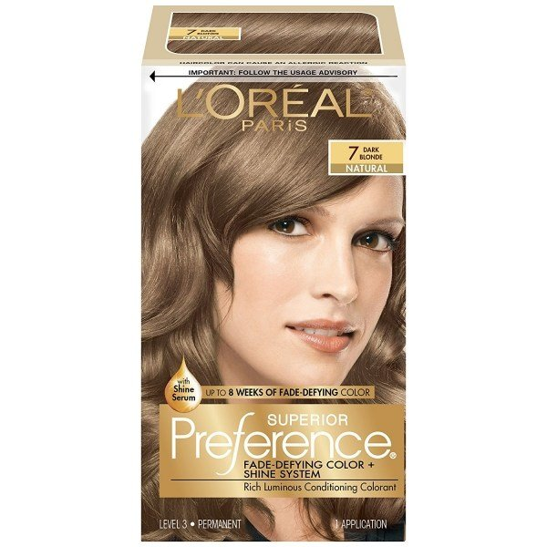 The Best Loreal Superior Preference Hair Color 7 Dark Blonde 1 Pictures