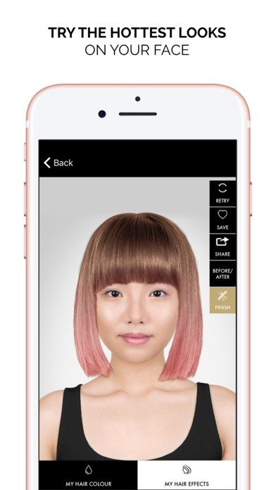The Best Style My Hair Try On Hair Styles Color Makover App Pictures