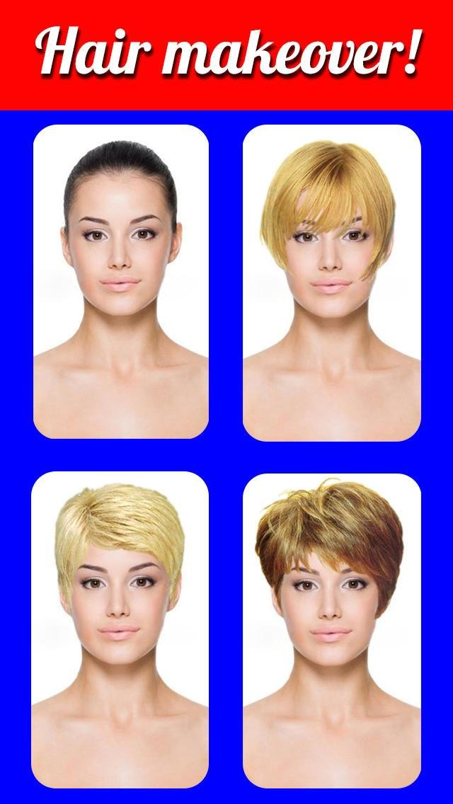 The Best Hairstyles Makeover Virtual Hair Try On To Change Yr Pictures