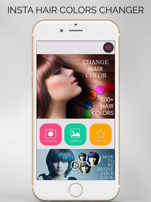 The Best App Shopper Insta Hair Color Changer Cosmetic Makeup Pictures
