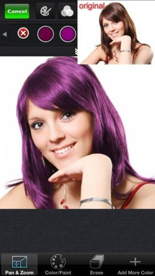 The Best Hair Color Change App For Iphone Newhairstylesformen2014 Com Pictures