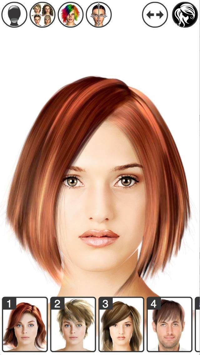 The Best Hairstyle Magic Mirror Change Your Look Screenshot Pictures