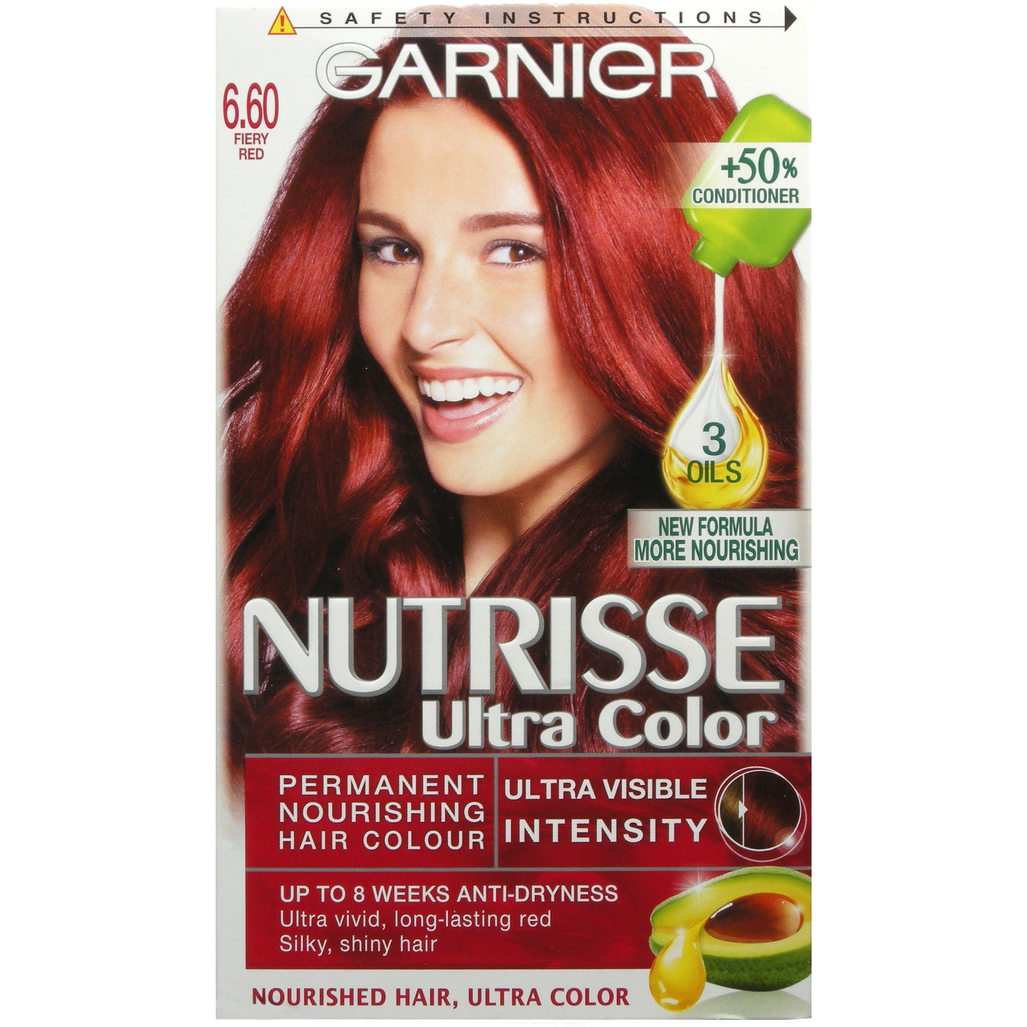 The Best Garnier Nutrisse Ultra Color 6 60 Fiery Red Ebay Pictures