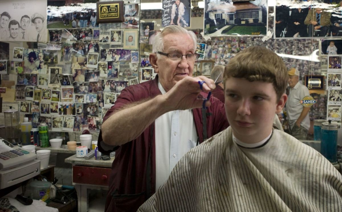 The Best Floyd The Barber Dies At 92 Local News Journalnow Com Pictures