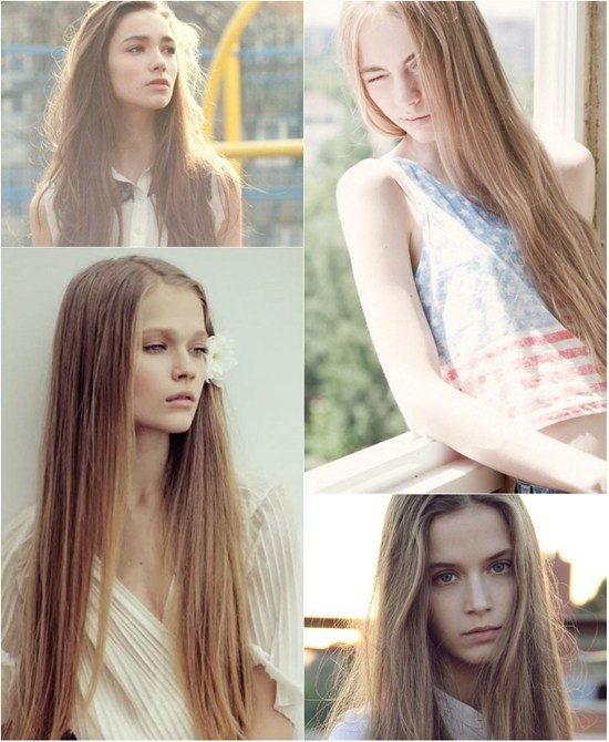 The Best Super Long Hair In Different Colors With Great Length Hair Pictures