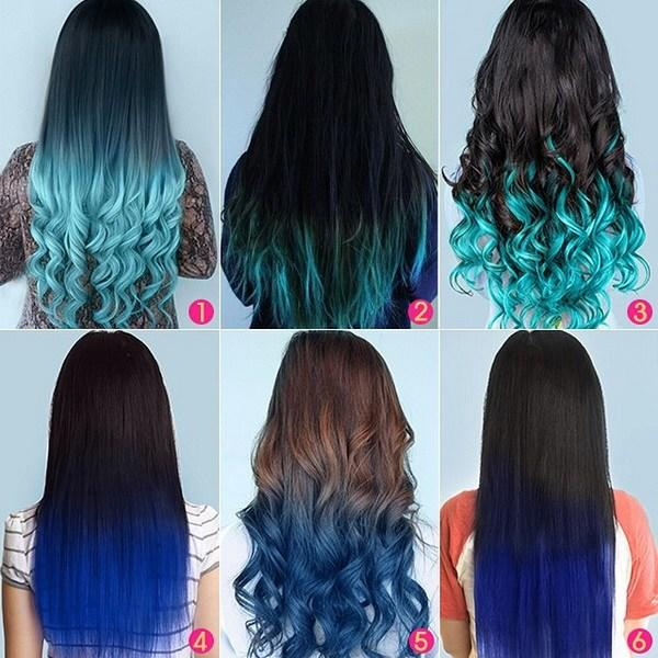 The Best Top 5 Black Brown Hair Extensions With Blue Tips On Blog Pictures