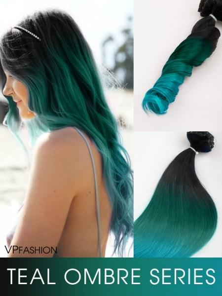 The Best Black To Teal Green To Teal Blue Mermaid Colorful Ombre Pictures