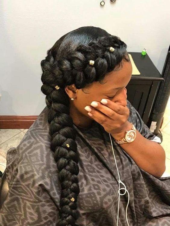 The Best 35 Braid Hairstyles With Weave Naloaded Pictures