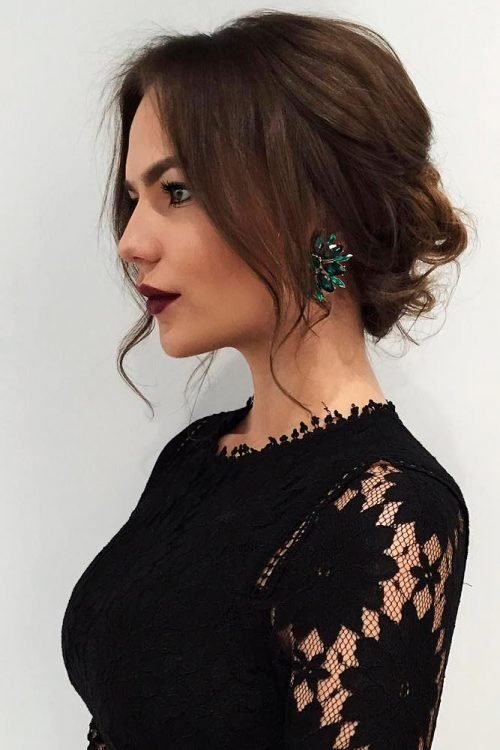 The Best 25 Most Beautiful Updos For Medium Length Hair New For 2018 Pictures