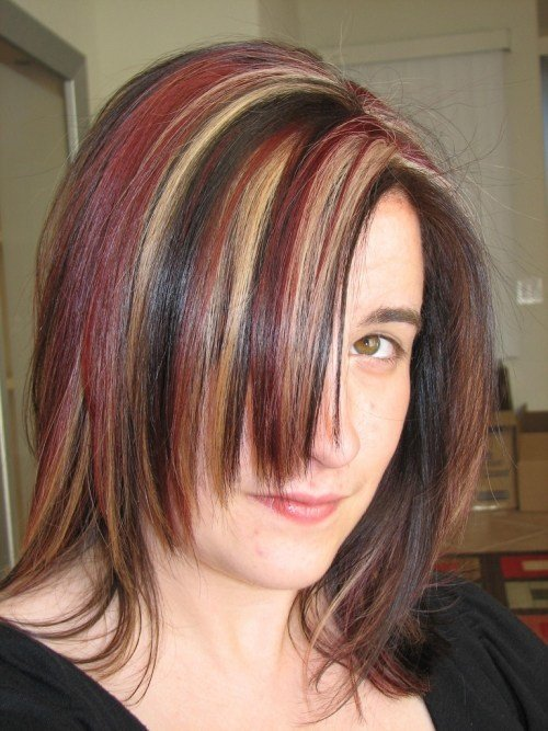 The Best 25 Nicest Brown Hair With Red Highlights Creativefan Pictures