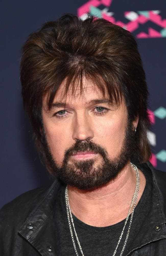 The Best Billy Ray Cyrus Shocks With New Hairdo Pictures