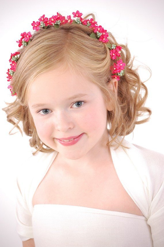 The Best Curly Hairstyles For Flower Girls Pictures