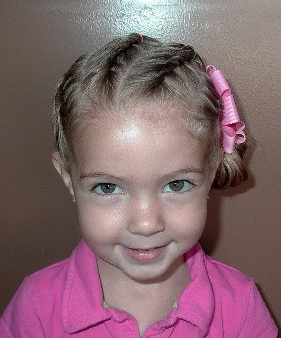 The Best Sweet Chearleading Hairstyles For Little Girls Pictures